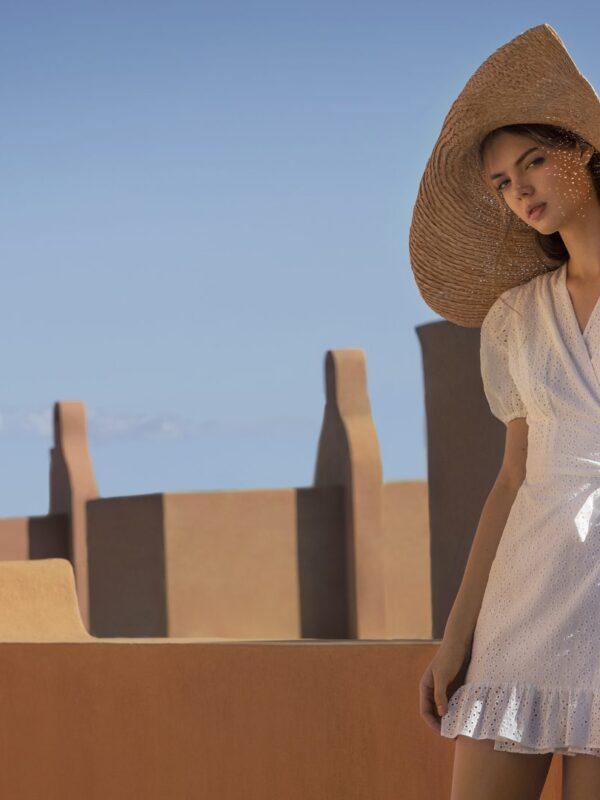 Abelia cotton dress