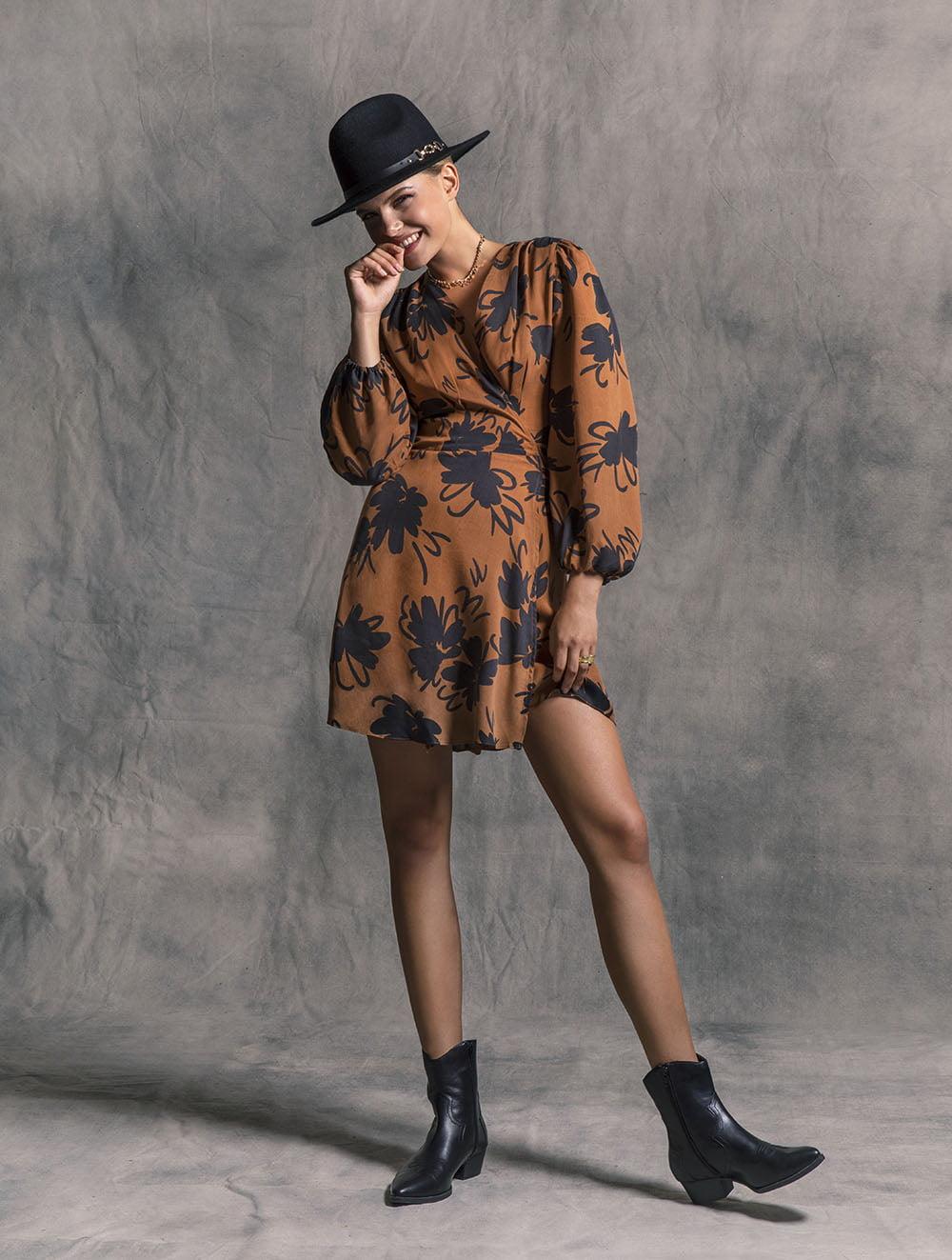 Rachel floral dress