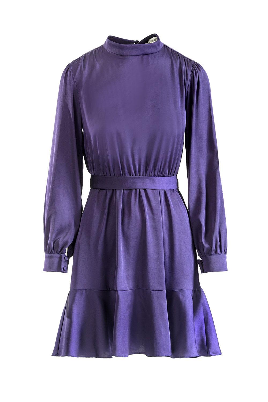 Kimberly satin dress