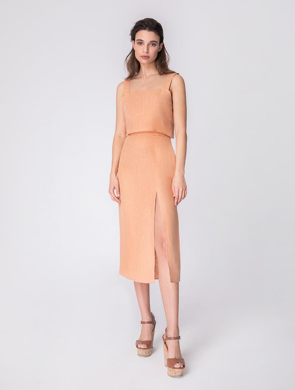 Chrysanthe skirt