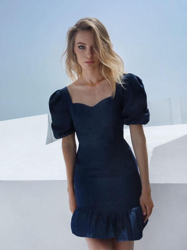 Alexia denim dress