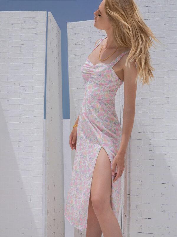 Lydia floral dress