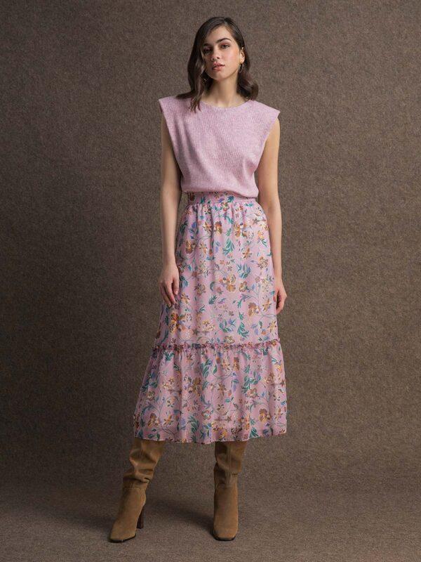 Melissa chiffon skirt