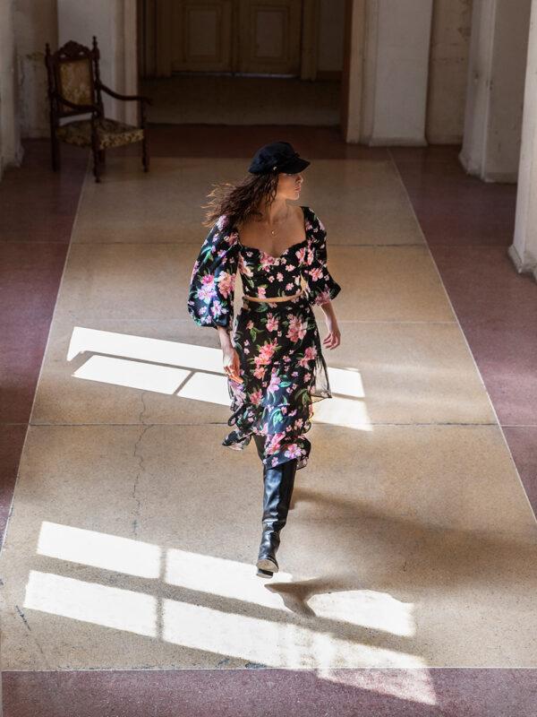 Alison chiffon skirt